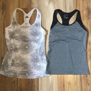2 Active workout tanks